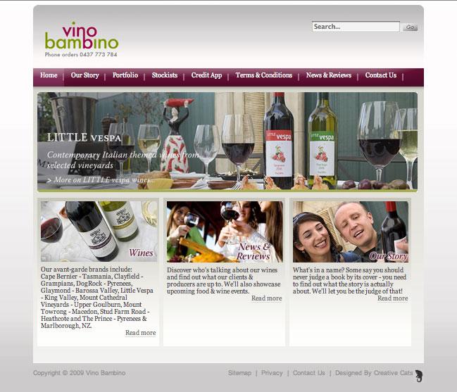 vino-bambino-website